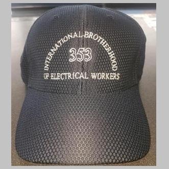 IBEW Originals Black Mesh ball cap